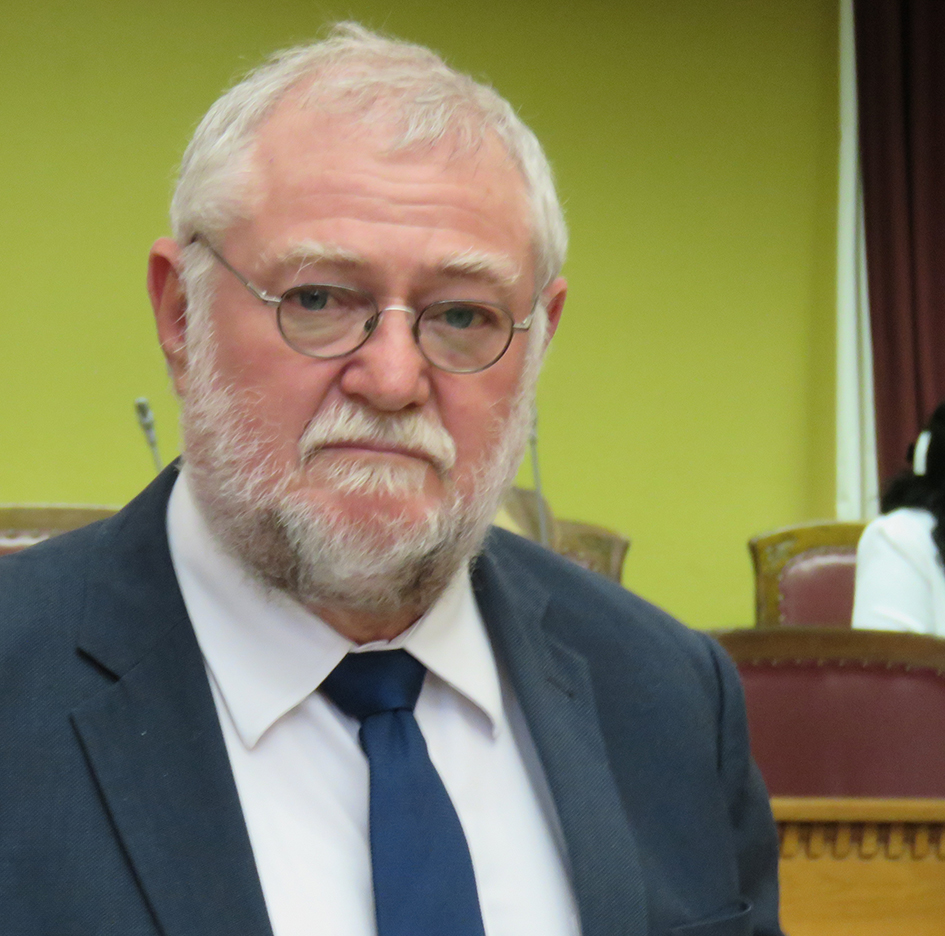 Minister of Finance Calle Schlettwein