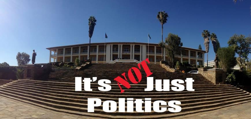 """NOT """"Its Just Politics""""!"""