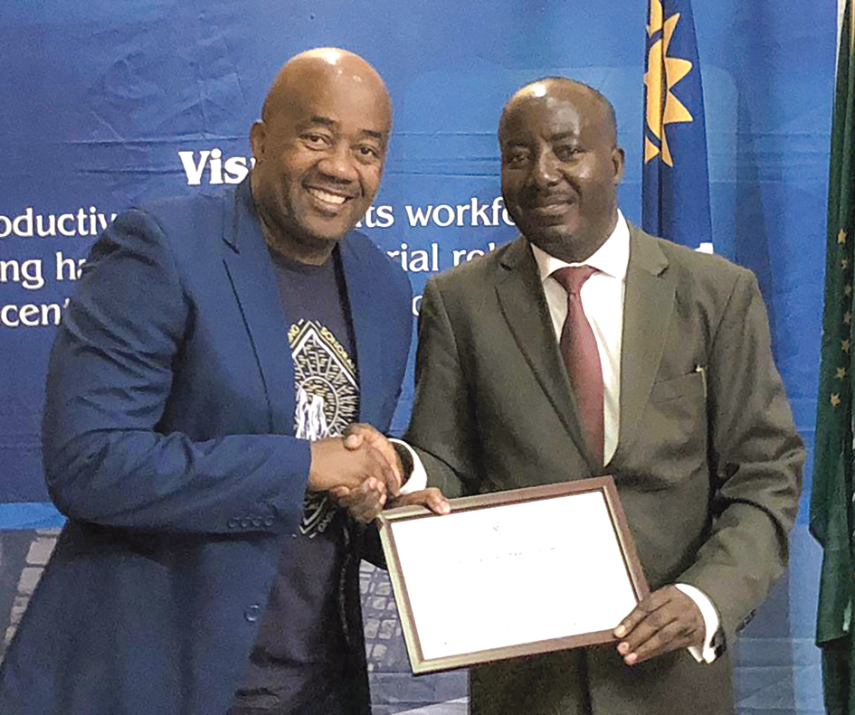 Ministry of Labour awards Trustco Group