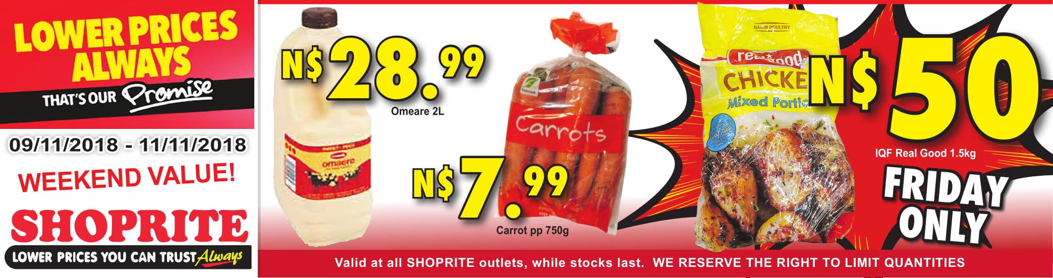 Shoprite Weekend Specials