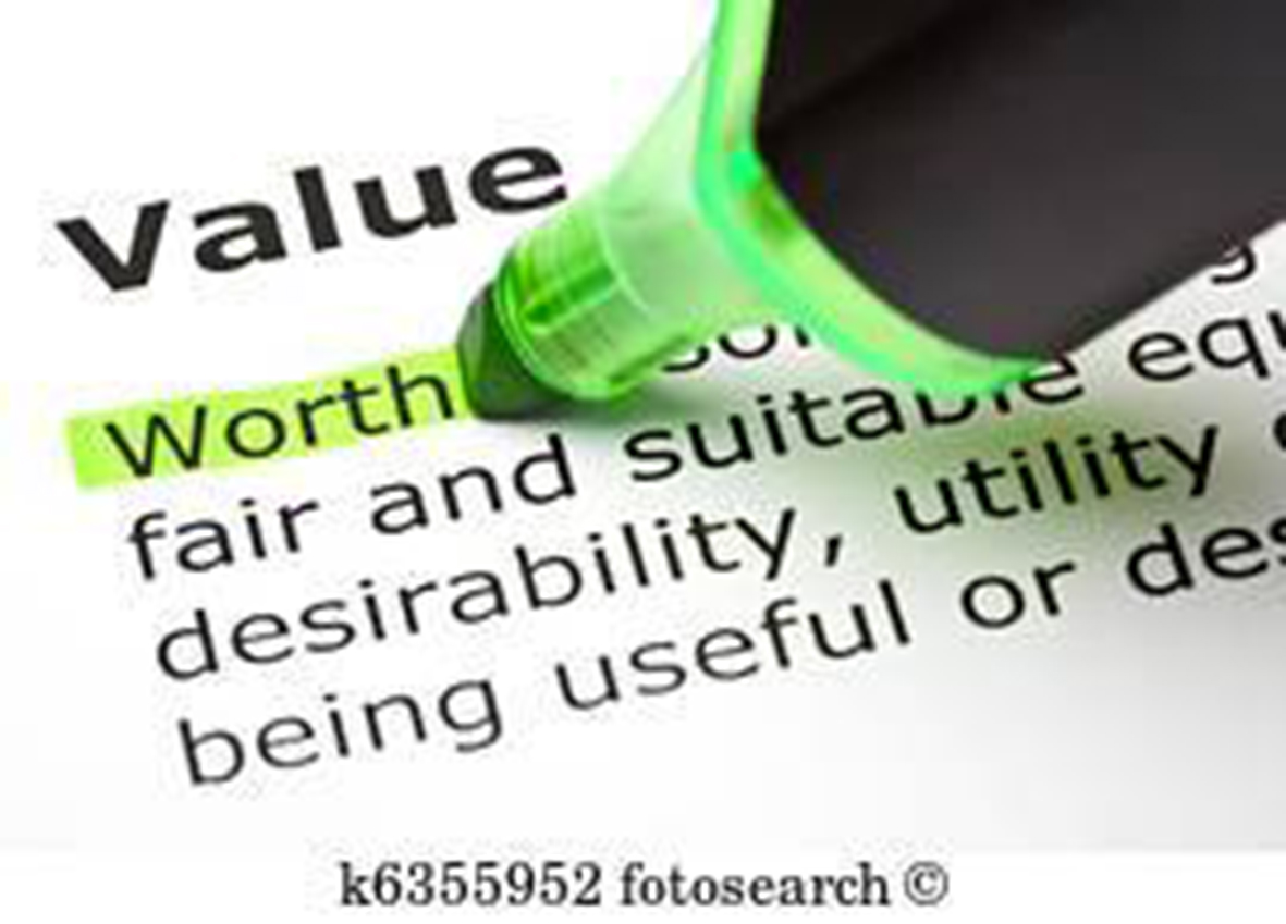 Values not Free